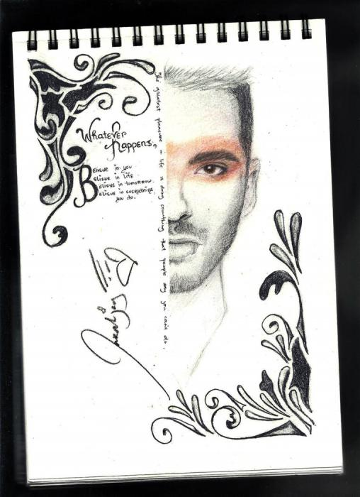 Bill Kaulitz by lara-0630